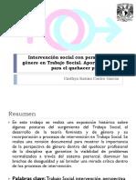 Intervención social con perspectiva de género