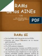 RAMs de Los AINEs