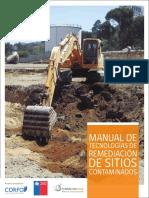 Manual de Tecnologías de Remediación de Sitios Contaminados Baja