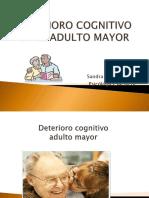 Deterioro Cognitivo en El Adulto Mayor