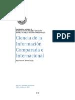 Ciencia de La Informacion Comparada 2004 2010
