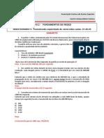GABARITO FUND REDES Questionário 5 Video Aulas 21-22-23 2019 2