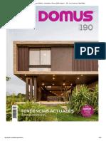 Revista DOMUS - Diciembre _ Enero 2019 Pages 1 - 50 - Text Version _ FlipHTML5