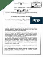 Decreto 1467 Del 13 de Agosto de 2019