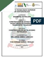 CONSTRUCCION DE ESTRUCTURAS JACKET