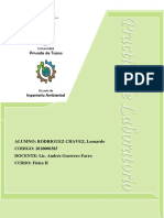 INFORME DE LABORATORIO N°3-FISICA II