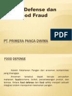Food Defense & Food Fraud(1)
