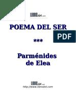 Parménides Poema Del Ser