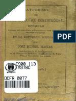 Catecismo Del Derecho Politico Costitucional