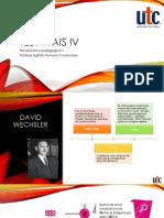Clase de Psicotecnica II - WAIS IV