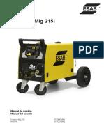 Compact Mig 215i Manual Usuario Español