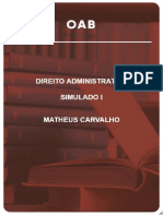 Simulado 2 fase administrativo