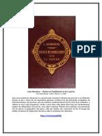 eBook Louis Bourdeau - Histoire de l'Habillement Et de La Parure