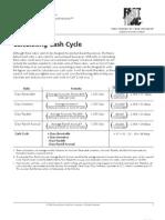 Cash Cycle Worksheet