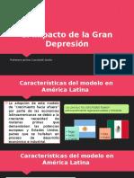 El Impacto de La Gran Depresión
