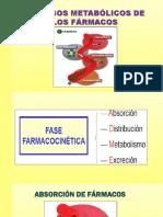 Farmacocinética Fase I y II