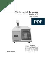 The Avanced CRYOSCOPE 4D3
