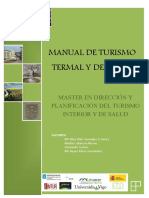 Modulo Turismo termal