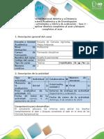 Guía de Actividades y Rúbrica de Evaluación - Fase 2 - Identificar y Aplicar Diseño Completamente Al Azar y Bloques Completos Al Azar