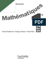 Mathématiques 1ere ST2S Livre du professeur