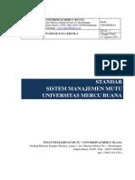 Standar Sistem Manajemen Mutu