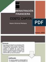 Costo Capital KVP