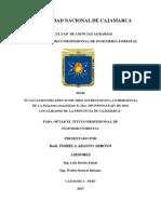 """""""Evaluacion Del Efecto de Tres Sustratos en La Emergencia de La Delostoma Integrifolium d. Don ("""