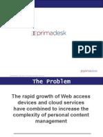 Primadesk Presentation