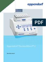 Operating Manual - ThermoMixer C