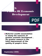 LESSON 3 (Phases of Economic Development)