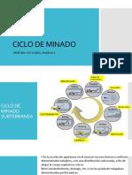 CICLO DE MINADO