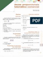 Capitulo 3 - Grandezas Proporcionais e Matemática Comercial