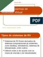 Apostila v - Realidade Vistual - Sistemas