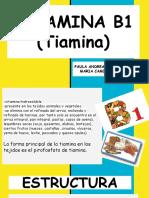 mantequilla b1 tiamina