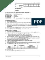 principle of finance Formula sheet