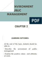 Seminar in Public Management Chapter 2