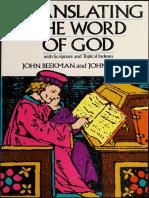 Translating the Word of God