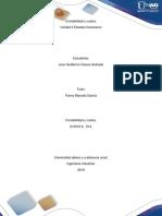 Trabajo Unidad 2 contabilidad y costos