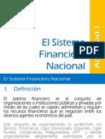 sistema financier nacional