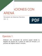4.- Simulaciones Con Arena Ejercicios
