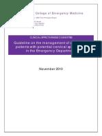 5z17. Cervical Spine Management of alert, adult patients with potential cervical spine injury in the ED.pdf