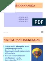 Termodinamika Hukum Ke-0 Hukum Ke-1 Hukum Ke-2 Nk _9