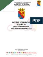 Informe de Rendicion de Cuentas  2018