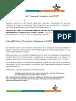 """AA3-EVIDENCIA 1 Presentación """"Indicadores y Ciclo PHVA""""."""