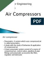 Chapter No 3 Air Compressors