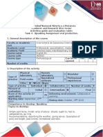 Activity Guide and Evaluation Rubric- Activity 4. Speaking Task