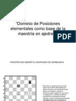 Exposición sobre el ajedrez a través de la mirada del genio José R. Capablanca