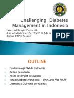 Tantangan dalam Manajemen diabetes