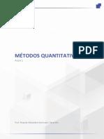 Métodos Quantitativos - Aula 1