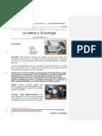 Libreto La Liebre y La Tortuga